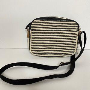 Thirty-One striped crossbody bag like new!